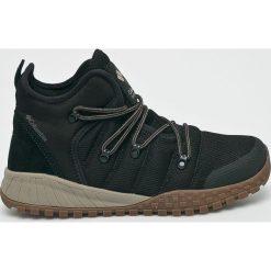 Columbia - Buty Fair Banks. Czarne buty trekkingowe męskie Columbia, z materiału, na sznurówki, outdoorowe. Za 499,90 zł.