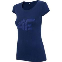 4f Koszulka ciemno-granatowa r. L (H4Z17-TSD004). Niebieskie topy sportowe damskie 4f, l. Za 29,00 zł.