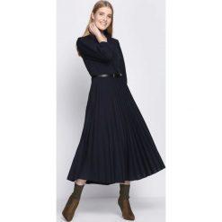 Granatowa Sukienka Conformation. Niebieskie sukienki marki Born2be, m, midi. Za 109,99 zł.