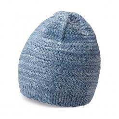 Czapka w kolorze niebieskim. Niebieskie czapki męskie Vistula, z dzianiny. W wyprzedaży za 89,95 zł.