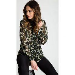 Odzież damska: Elegancka bluzka z żabotem na przodzie BIALCON