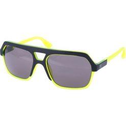 """Okulary przeciwsłoneczne damskie: Okulary przeciwsłoneczne """"0046/S G1I/Y1"""" w kolorze żółto-zielonym"""