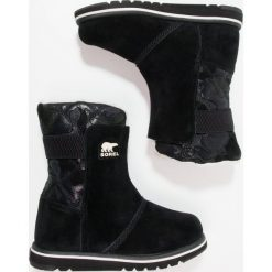 Buty zimowe damskie: Sorel RYLEE CAMO Śniegowce black/light bisque