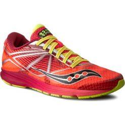 Buty SAUCONY - Type A S19028-1 Cor/Ctn. Czerwone buty do biegania damskie Saucony, z materiału. W wyprzedaży za 309,00 zł.