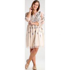 Sukienki hiszpanki: Frock and Frill Curve ARIAH Sukienka koktajlowa light blush