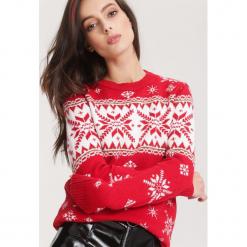 Czerwony Sweter No sweat. Czerwone swetry klasyczne damskie other, l. Za 89,99 zł.