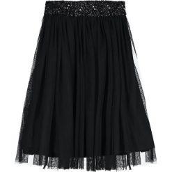 Spódniczki trapezowe: Lace & Beads PICASSO SKIRT Spódnica trapezowa black