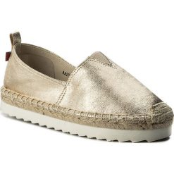 Tomsy damskie: Espadryle BIG STAR - AA274225A Gold