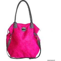 Torba Worek zamsz #Fuksja. Czerwone torebki klasyczne damskie marki Reserved, duże. Za 169,00 zł.