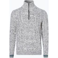 Swetry klasyczne męskie: BOSS Casual - Sweter męski – Karvince, czarny