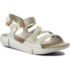 Rzymianki damskie: Sandały CLARKS – Tri Sienna 261311124 White Combi