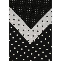 Club Monaco MATIE SCARF Chusta black/white. Czarne chusty damskie Club Monaco, z jedwabiu. W wyprzedaży za 382,85 zł.