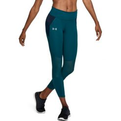 Spodnie sportowe damskie: Under Armour Spodnie damskie Speedpocket Run Crop zielone r. M (1323044-716)