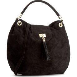 Torebka CREOLE - K10444  Czarny. Czarne torebki klasyczne damskie Creole, ze skóry. W wyprzedaży za 159,00 zł.