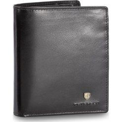 Duży Portfel Męski PETERSON - 301-02-01-01 Czarny. Czarne portfele męskie Peterson, ze skóry. W wyprzedaży za 129,00 zł.