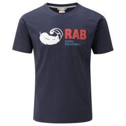 RAB Koszulka Męska Stance Tee Deep Denim r. L (QBT-91-DD). Szare t-shirty męskie RAB, l, z denimu. Za 132,96 zł.