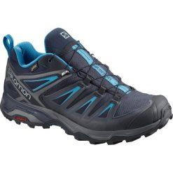 Buty trekkingowe męskie: Salomon Buty męskie X Ultra 3 GTX Graphite/Night Sky r. 42 (402423)