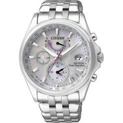ZEGAREK CITIZEN Radio Controlled FC0010-55D. Białe zegarki damskie CITIZEN, ze stali. Za 2090,00 zł.