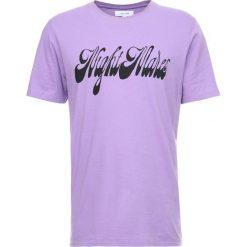 T-shirty męskie z nadrukiem: Soulland PIETT Tshirt z nadrukiem violet