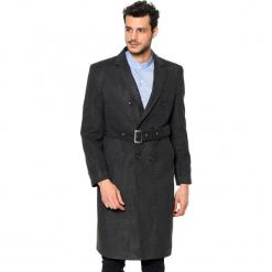 Płaszcz w kolorze antracytowym. Szare płaszcze zimowe męskie marki AVVA, Dewberry, m. Za 539,95 zł.