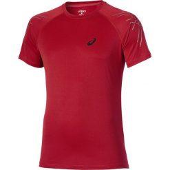 Asics Koszulka Stripe Top czerwona r. S (126236 6015). Czerwone t-shirty męskie Asics, m. Za 73,93 zł.