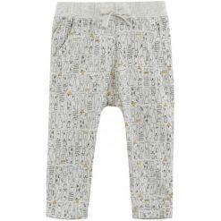 Spodnie niemowlęce: Melanżowe spodnie w deseń dla niemowlaka