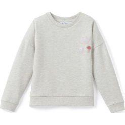Bluzy dziewczęce: Bluza z naszywkami 3-12 lat