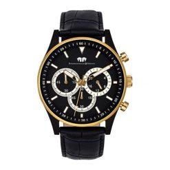 """Zegarki męskie: Zegarek """"10010135"""" w kolorze czarnym"""