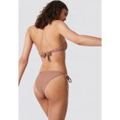 NA-KD Swimwear Dół bikini z marszczeniem - Pink. Różowe bikini NA-KD Swimwear. Za 52,95 zł.