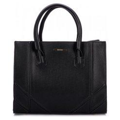 Bessie London Torebka Damska Czarny. Czarne torebki klasyczne damskie Bessie London, z materiału. Za 245,00 zł.