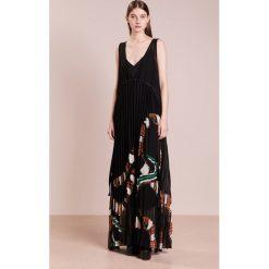 Długie sukienki: By Malene Birger RIPLIS Długa sukienka black