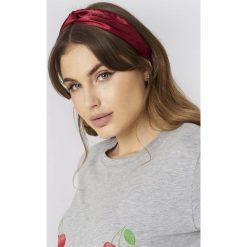 Ozdoby do włosów: NA-KD Accessories Satynowa opaska do włosów – Red