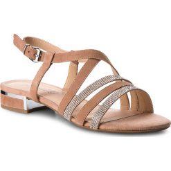 Sandały damskie: Sandały CAPRICE – 9-28110-20 Rose/Sand Sued 585