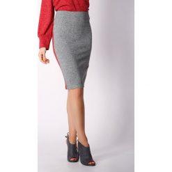 Spódniczki z wysokim stanem: Spódnica w kolorze ciemnoszarym