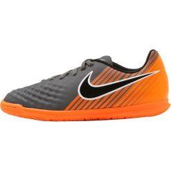 Nike Performance OBRAX 2 CLUB IC Halówki dark grey/black/total orange/white. Czarne halówki męskie marki Nike Performance, z materiału, do piłki nożnej. Za 169,00 zł.