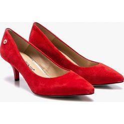 Buty ślubne damskie: Carinii - Czółenka