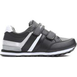 Czarne Buty Sportowe Childhood Memories. Czarne buciki niemowlęce chłopięce Born2be, na rzepy. Za 49,99 zł.