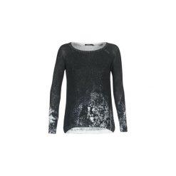 Swetry Desigual  DRAKA. Czarne swetry klasyczne damskie marki Desigual, m. Za 244,30 zł.