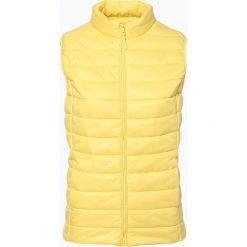 Kamizelki damskie: brookshire - Damska kamizelka pikowana, żółty
