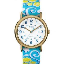 Zegarek Timex Damski TW2P90100 Weekender Indiglo niebieski. Niebieskie zegarki damskie Timex. Za 209,00 zł.