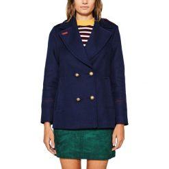 Płaszcze damskie pastelowe: Półdługi płaszcz z czystej bawełny