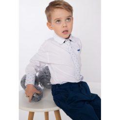 Biała koszula chlopięca z krawatem NDZ7200. Czarne koszule chłopięce marki Fasardi, m, z dresówki. Za 59,00 zł.