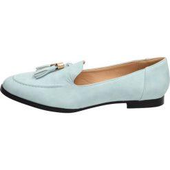 cc2251f6ce002c Niebieskie mokasyny, buty damskie VICES 7219. Niebieskie mokasyny damskie  vices, bez wzorów,