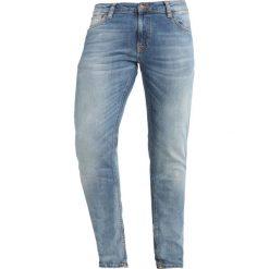 Nudie Jeans LIN Jeans Skinny Fit slowly worn. Czarne rurki męskie marki Criminal Damage. Za 579,00 zł.
