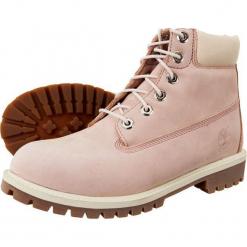 Buty dziecięce 6 In Prem Wp 992 różowe r. 40. Czerwone buciki niemowlęce marki Timberland, na zimę. Za 561,38 zł.