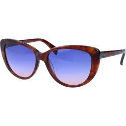 """Okulary przeciwsłoneczne damskie aviatory: Okulary przeciwsłoneczne """"JC646S 53V"""" w kolorze brązowym"""