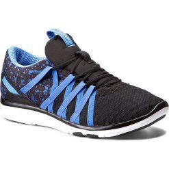 Buty ASICS - Gel-Fit Yui S750N  Black/Regatta Blue/Silver 9040. Czarne buty do fitnessu damskie marki Asics. W wyprzedaży za 269,00 zł.