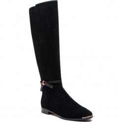 Oficerki TED BAKER - Lykla 9-17759 Black. Czarne buty zimowe damskie marki Ted Baker, z materiału. Za 1449,00 zł.