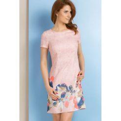 Sukienki: Sukienka z wielobarwnymi kwiatami