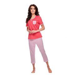Piżama Eva 310 kr.rękaw. Czerwone piżamy damskie Betina. Za 79,90 zł.